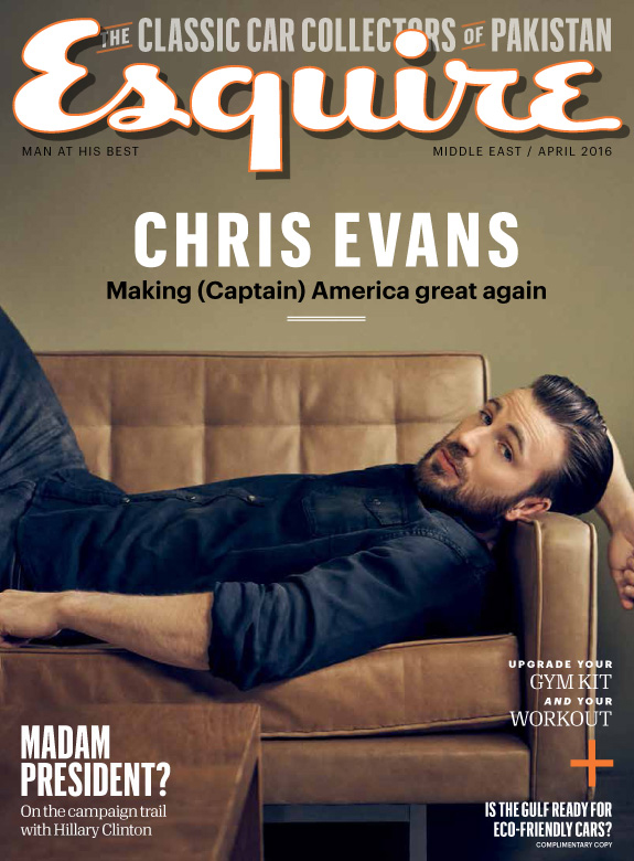 KurtIswarienko-ChrisEvans-Esquire-Cover